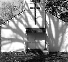 Country Church by Kent Nickell