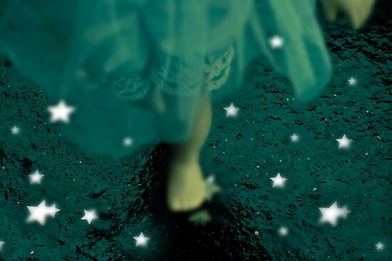 Alice Stepping Into Infinity by Tia Allor-Bailey