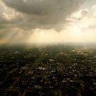 view from sears tower, chicago by ppearlphotos