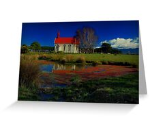 Point of Reflection Greeting Card