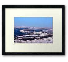 Farndale in Winter Framed Print