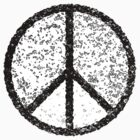 Peace symbol (black) by houk