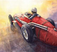 Light Racing Maserati 250 F by Yuriy Shevchuk
