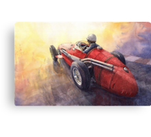 Light Racing Maserati 250 F Canvas Print