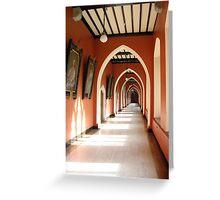 Holy Corridor Greeting Card