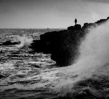 French Atlantic Coast - Storm by Julien Delebecque