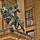 Impressive Statue In Berlin Germany by pdsfotoart