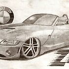 2005 BMW Z4 by Jordan Hewlett