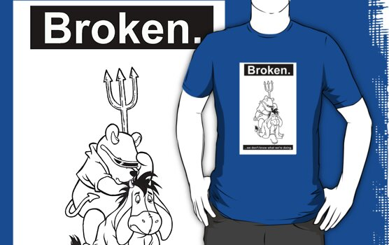 World Industries Rocco Pooh Eeyore spoof by BrokenSk8boards