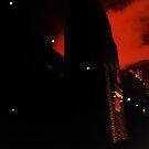 Fireworks Over Sydney Harbour Bridge by mjds