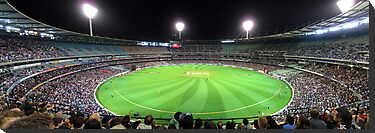 MCG - Australia Vs Pakistan by Peter Redmond