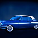 Blue 500 - 1964 Ford Fairlane 500 by Mark Richards