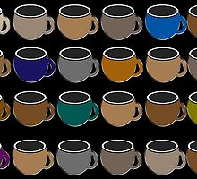 Coffee Cups by simpsonvisuals