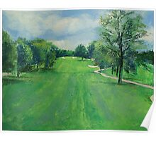 Fairway to the 11th Hole Poster