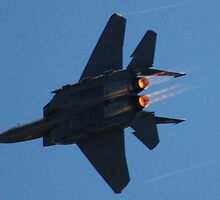 Strike Eagle Afterburner by OntheroadImage