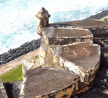 Puerto Rico at El Morro by Steve Keefer