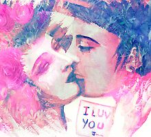 I love you  by Marilyns