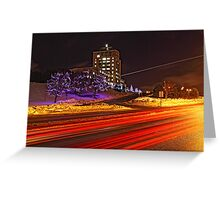 Confederation Lights Greeting Card