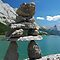 Inukshuk of Medicine Lake ~ Alberta
