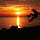 Sunset Jumping by Jenna Bussey