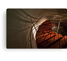 Stairs at the Gerding Canvas Print