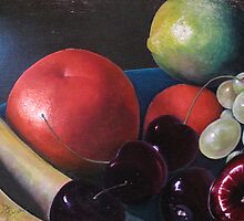Just Fruit  by Joann Ferrer