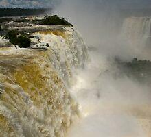 Iguazu Falls, Brazil by Jean Meile