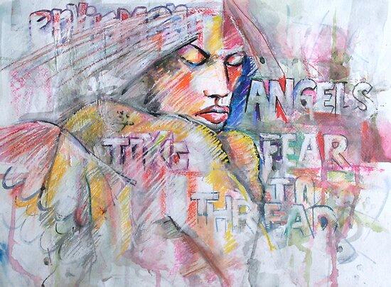Where Angels Fear To Thread by Reynaldo