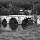 Bridge at Kirkham Priory by blackadder