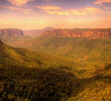 Leap of Faith - Govetts Leap, Blue Mountains World Heritage Area - The HDR Experience by Philip Johnson