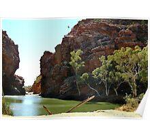Ellery Creek Big Hole,N.T. Poster