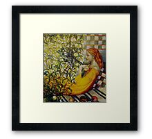 the apples lady Framed Print
