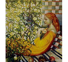 the apples lady Photographic Print
