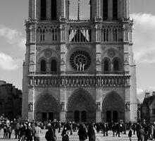 Notre Dame Paris  by Jenna Bussey