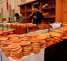 Fresh Bread Anyone? by Laurel Talabere