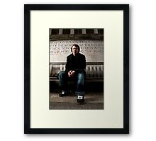 Sports Shoes Framed Print