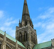 Chichester Cathedral by Yvonne Falk Ponsford