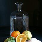 Ingredients for Seville orange marmalade by Yvonne Falk Ponsford