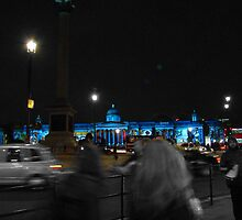 Trafalgar Square II by Al Bourassa