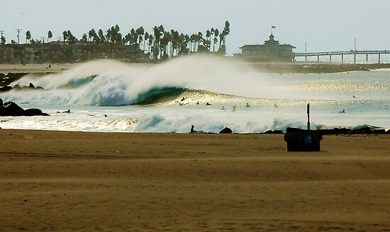 Fire Swell Newport Beach by 1tProductions