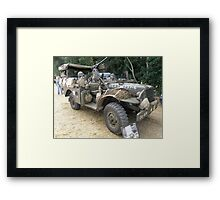 Well Armed Dodge Weapons Carrier Framed Print