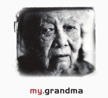Tai Mah - My Grandma the Tee (grandma version) by brokenvase