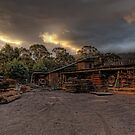 Millgrove Sawmill • Victoria • Australia by William Bullimore