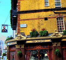 London Corner Pub by Al Bourassa