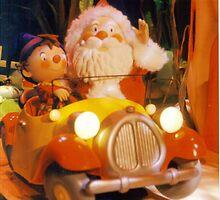 Noddy meets Santa. by Carla Maloco