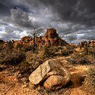 Cloudy Dells by Bob Larson