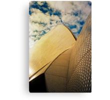Opera House and stippled sky #1 Canvas Print