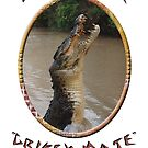 Jumping Croc Australia by Matthew Sims