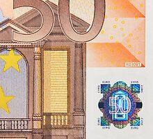 Fifty Euro Note by Markku Vitikainen