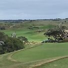 The National - Moonah - 4th Hole by Jason Langer